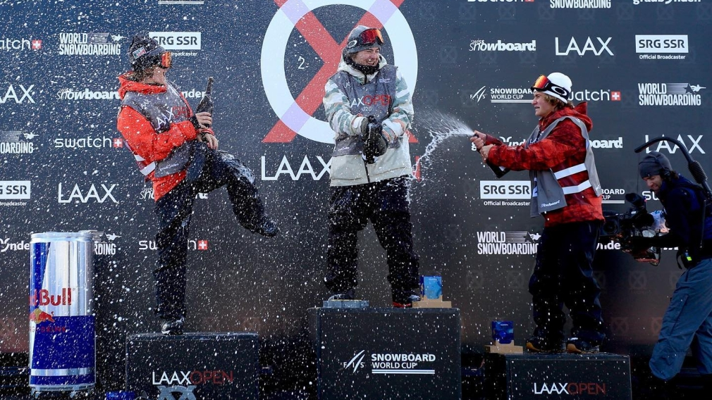 Sébastien Toutant claims slopestyle gold at first World Cup in two years