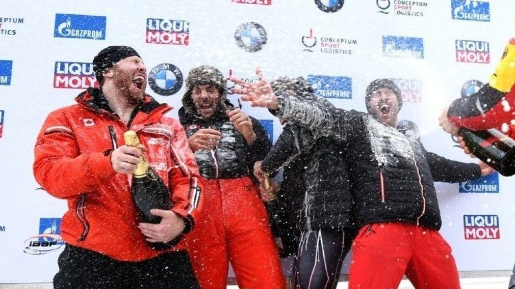 Bobsleigh: Team Kripps finished the season on top at St. Moritz