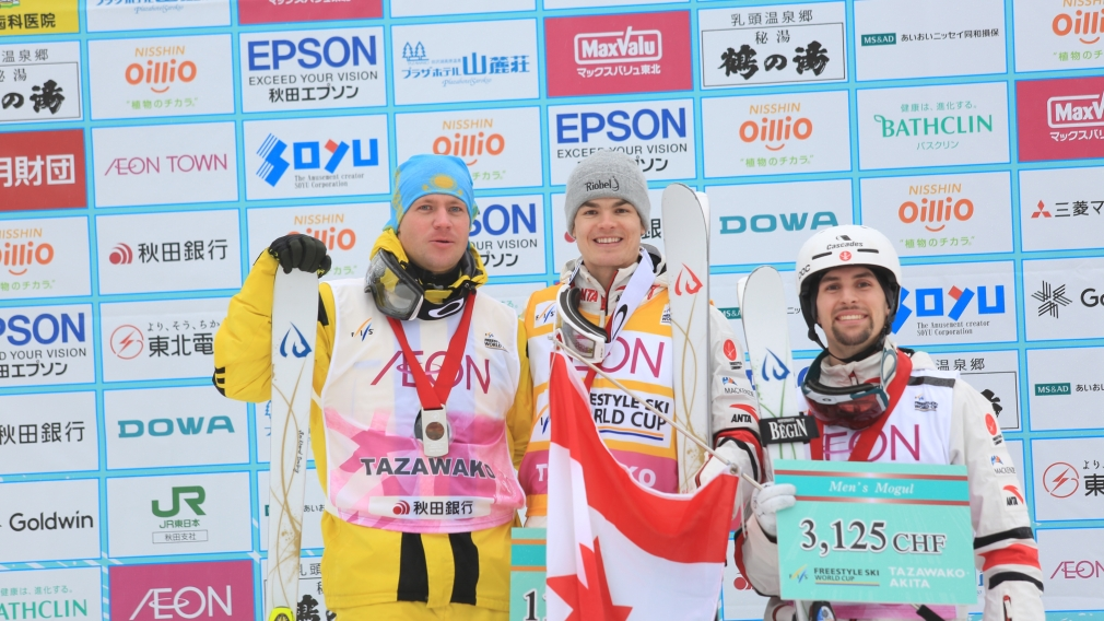 Kingsbury celebrates 62nd World Cup, Dumais takes bronze for a double podium in Japan