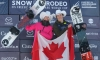 Laurie Blouin snowboards to slopestyle gold, Liam Brearley captures bronze in Calgary