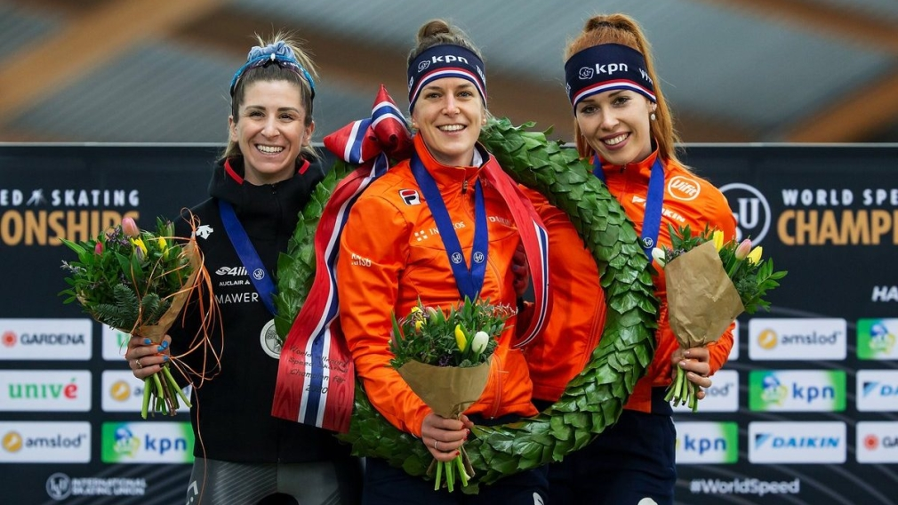Speed Skating: Blondin is crowned vice-champion in Norway