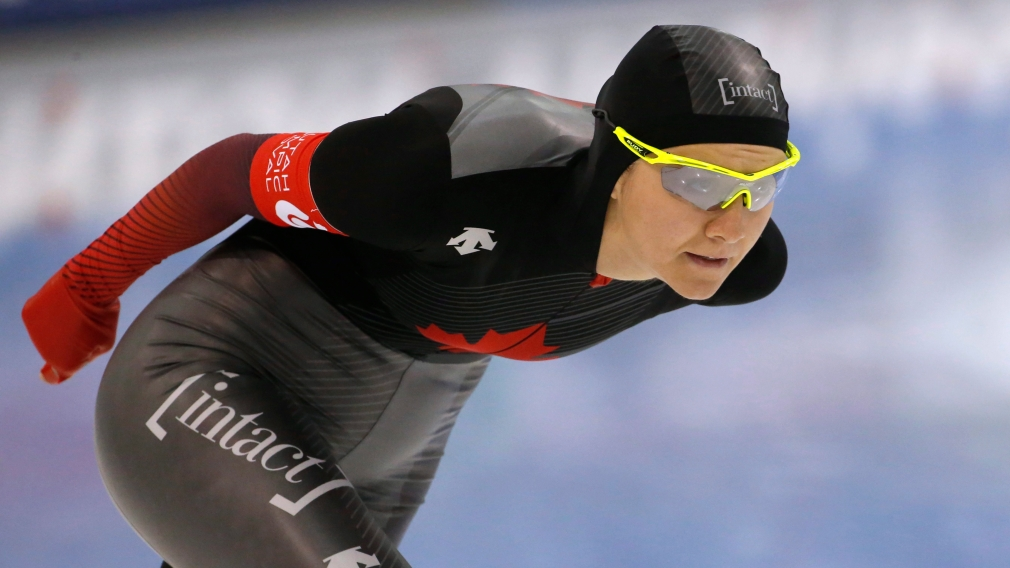 Team Canada skates to five long track medals at the Heerenveen World Cup