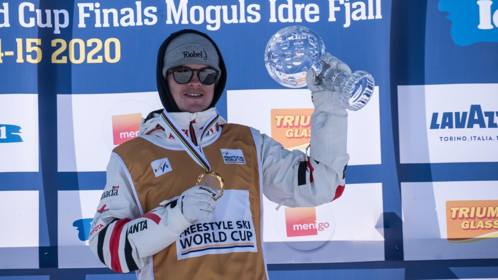 Mikaël Kingsbury wins ninth consecutive Crystal Globe