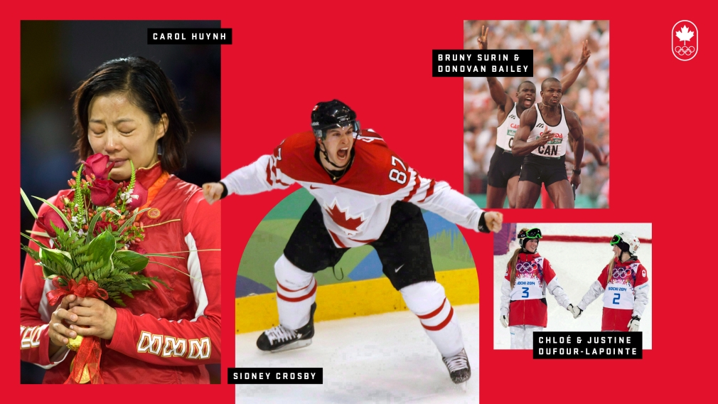 20 Team Canada Olympic Moments of Pride
