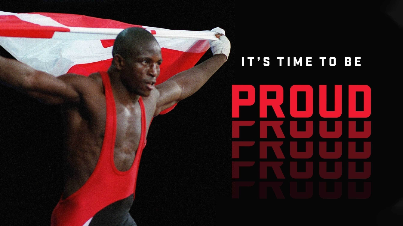 Daniel Igali - It's time to be proud