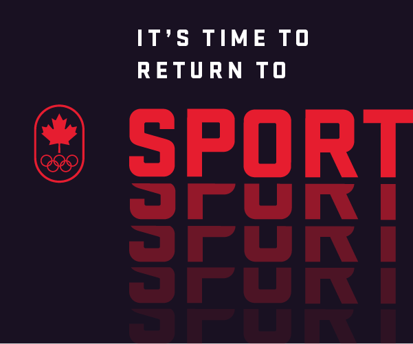 It's Time to Return to Sport - campaign ad