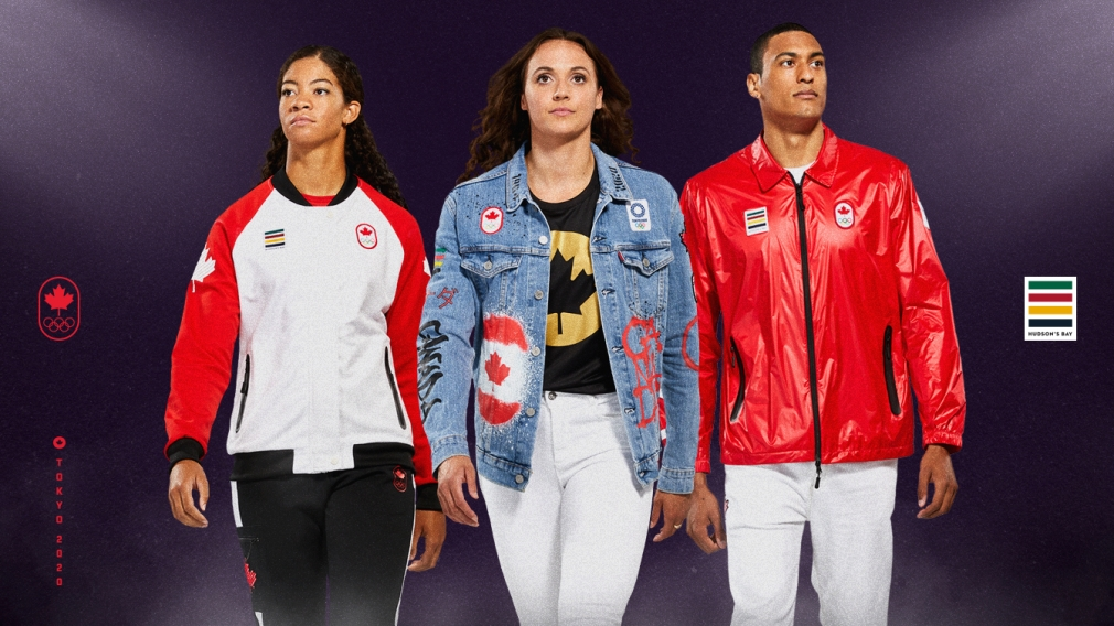 Hudson's Bay and Team Canada reveal Official Tokyo 2020 Collection