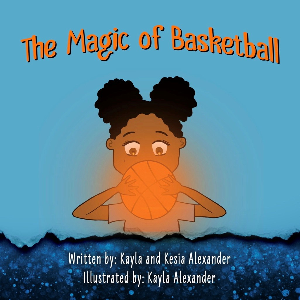 Front cover of the book The Magic of Basketball