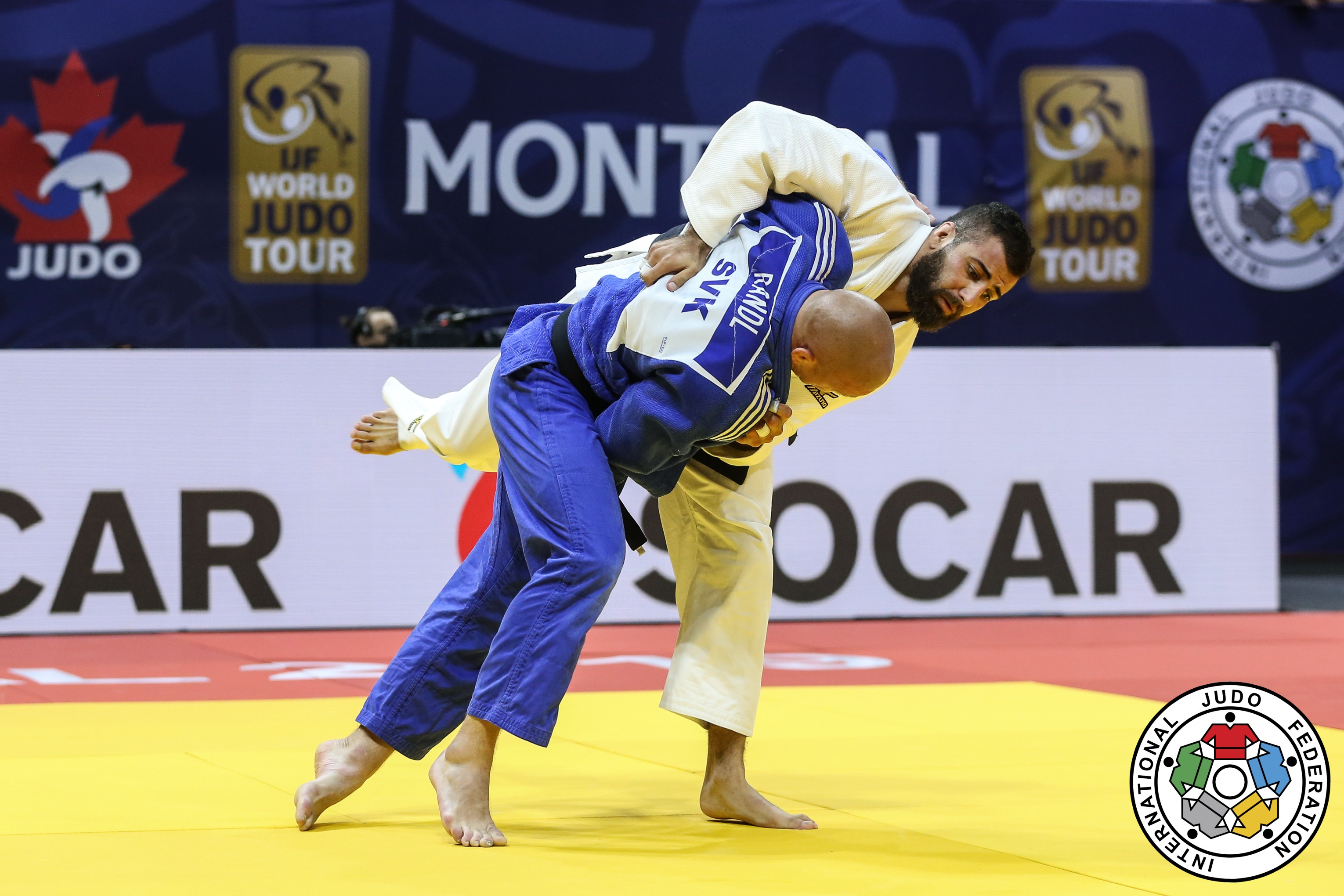 Mohab El Nahas flipping an opponent on his back