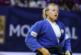 Jessica Klimkait in competition