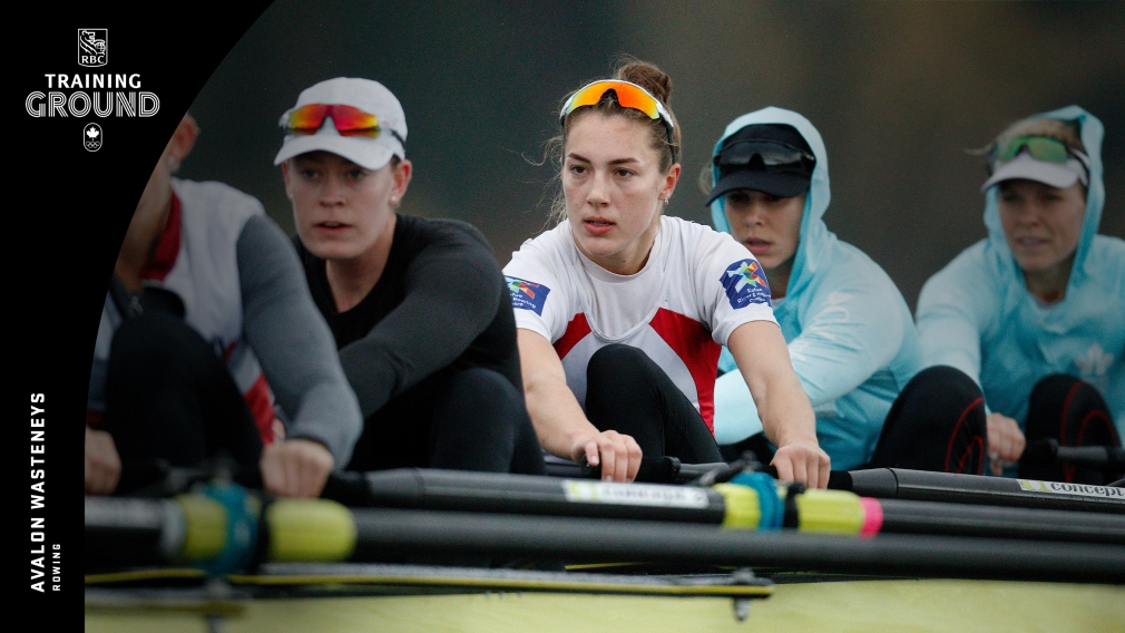 RBC Training Ground a career catalyst for Olympic rowing hopeful Avalon Wasteneys
