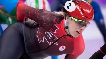 Team Canada A Moment With Marianne St-Gelais
