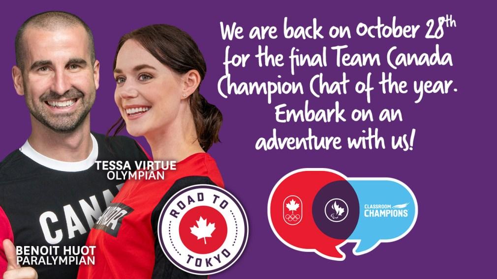 Team Canada Champion Chats