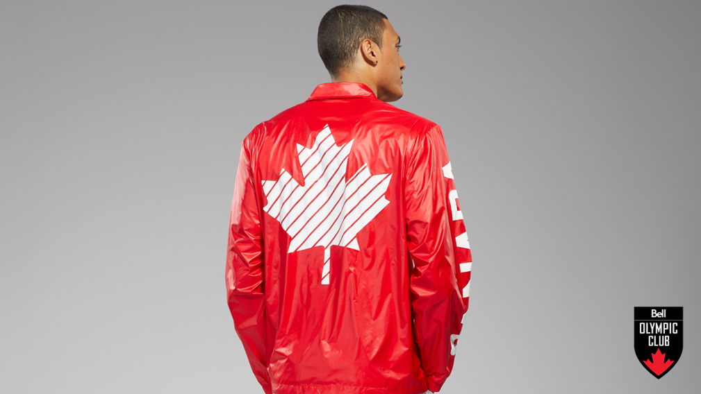 Win a replica Team Canada Opening Ceremony jacket