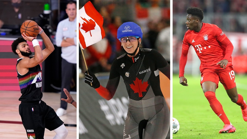 Who will be Canada's Athlete of the Year for 2020?