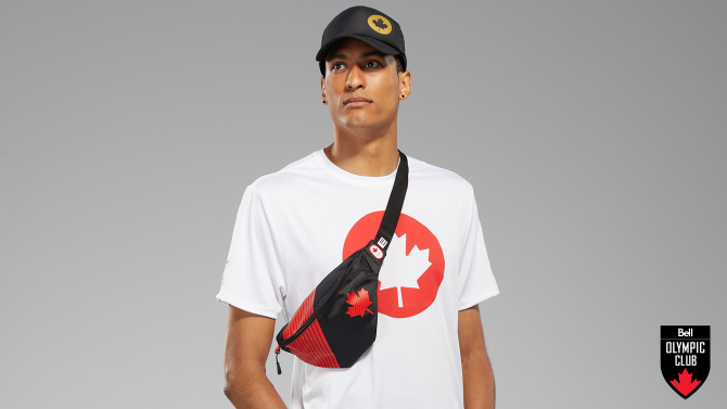 Win 1 of 20 hip packs from the Tokyo 2020 Team Canada Collection