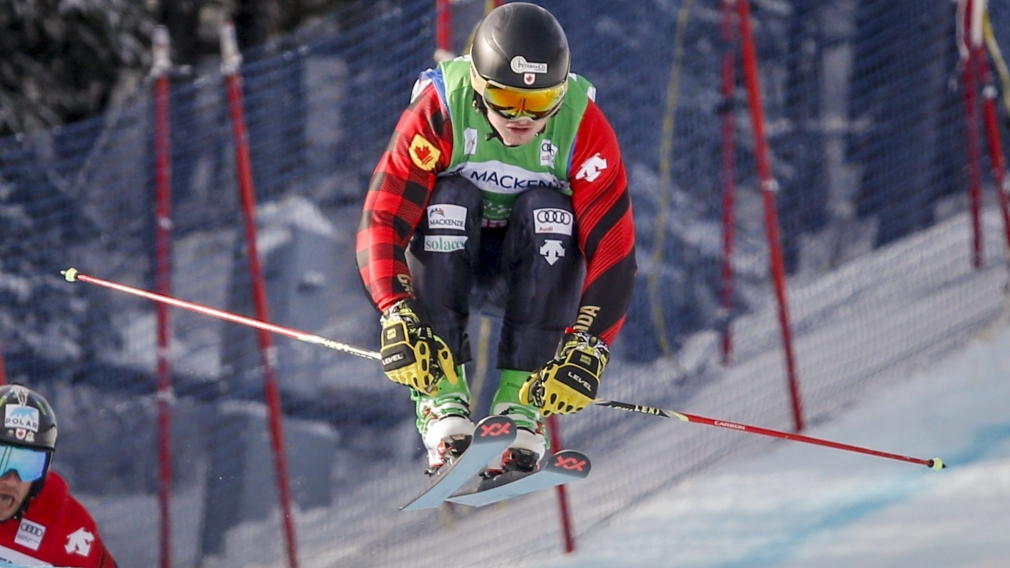 Howden and Thompson celebrate World Cup ski cross medals in France