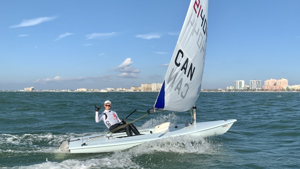 Rock-it Cargo helps sailor Sarah Douglas stay the course on her Olympic journey
