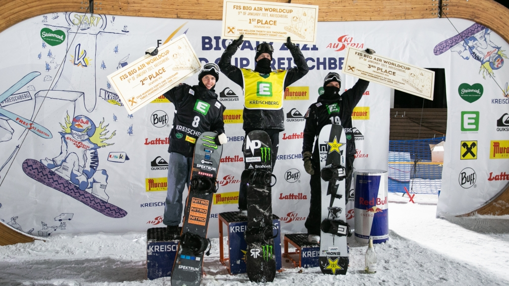 Parrot wins gold at FIS big air World Cup in Austria
