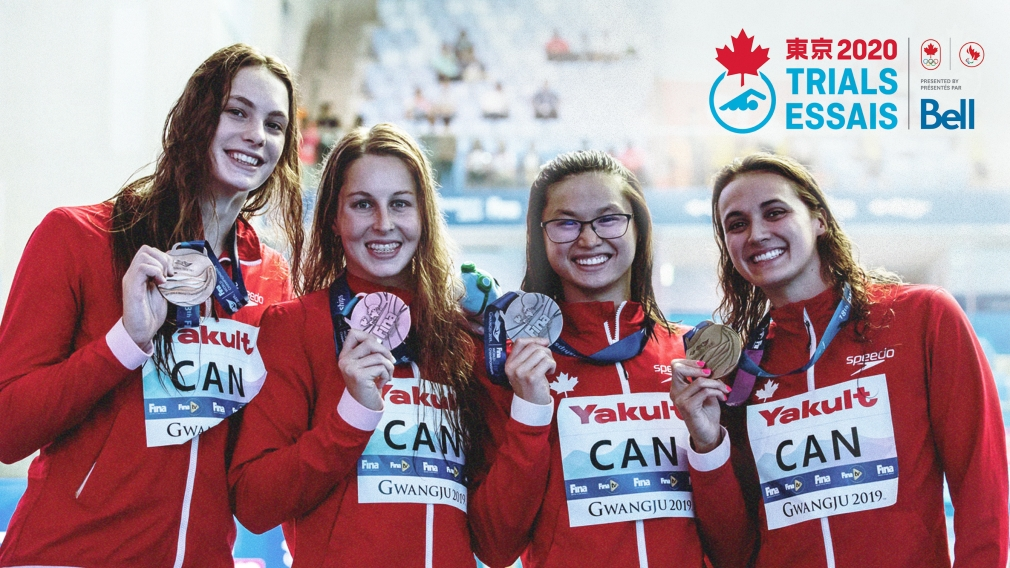Six swimmers provisionally nominated to represent Team Canada at Tokyo 2020