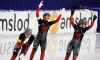 Speed skating: gold, silver and a track record for Team Canada