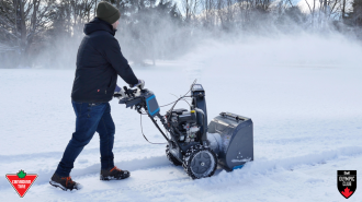 Win a Yardworks Snowblower from Canadian Tire