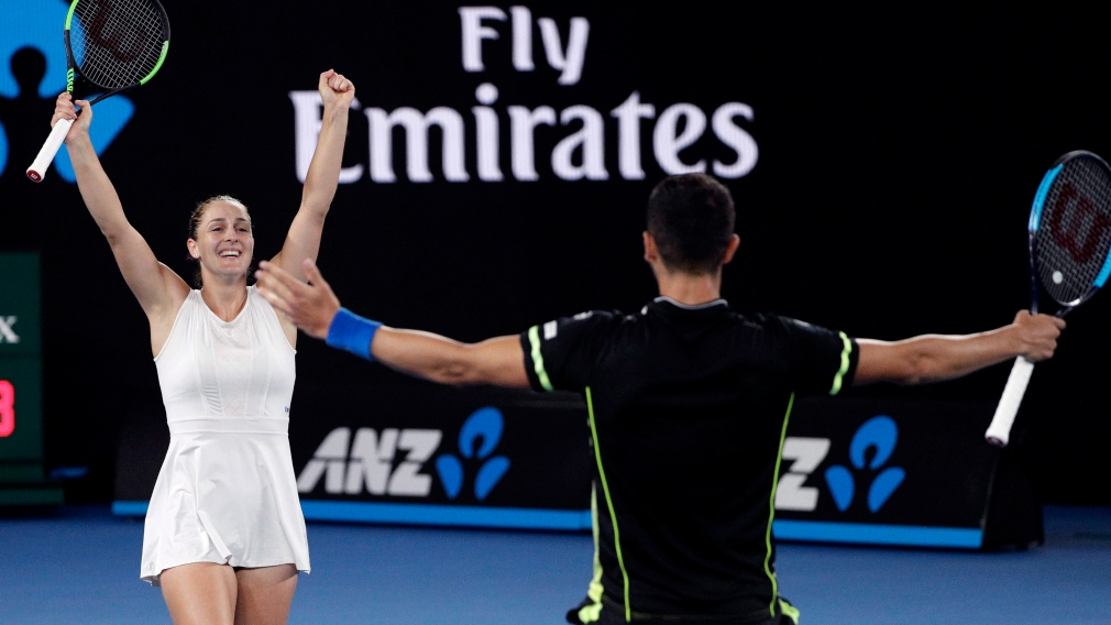 Australian Open:  Dabrowski advances to mixed doubles quarterfinals