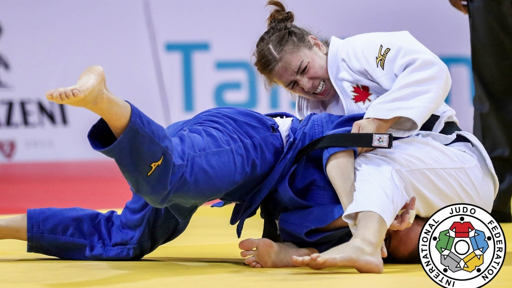 Beauchemin-Pinard is golden, Margelidon claims silver at Judo Grand Slam in Georgia