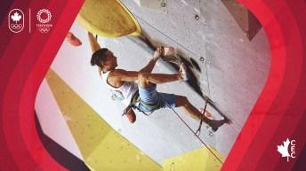 Sean McColl climbing