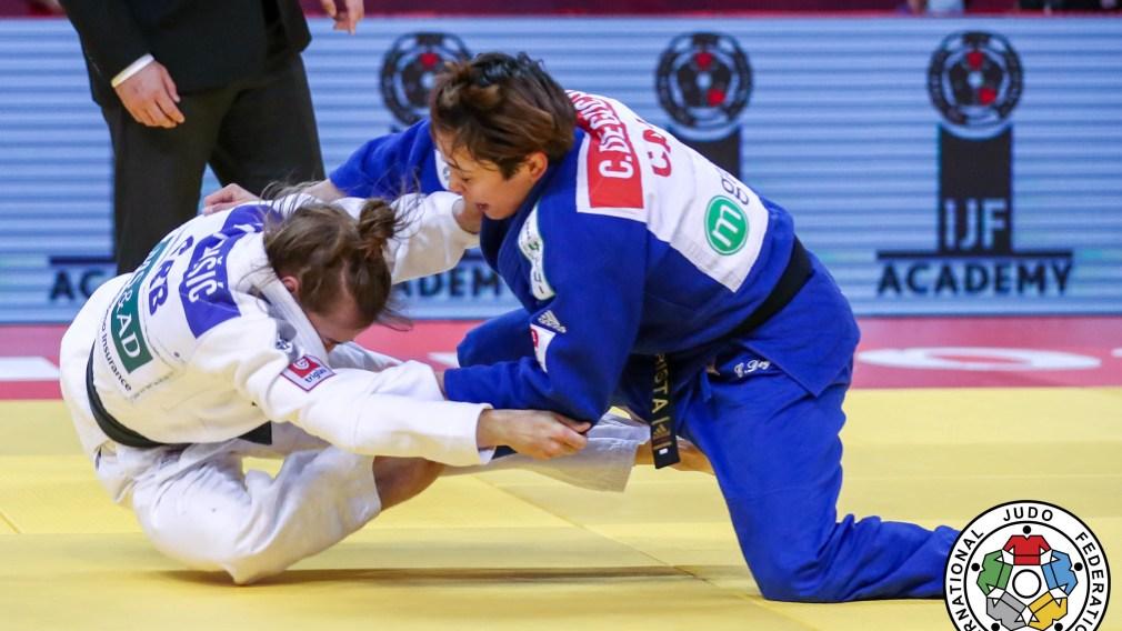 Christa Deguchi wins bronze at the Judo Grand Slam in Georgia