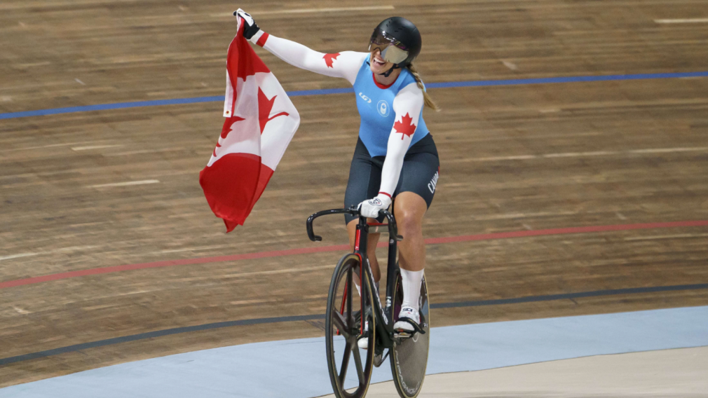 Achieving a Dream – Meet Team Canada Track Cyclist Kelsey Mitchell