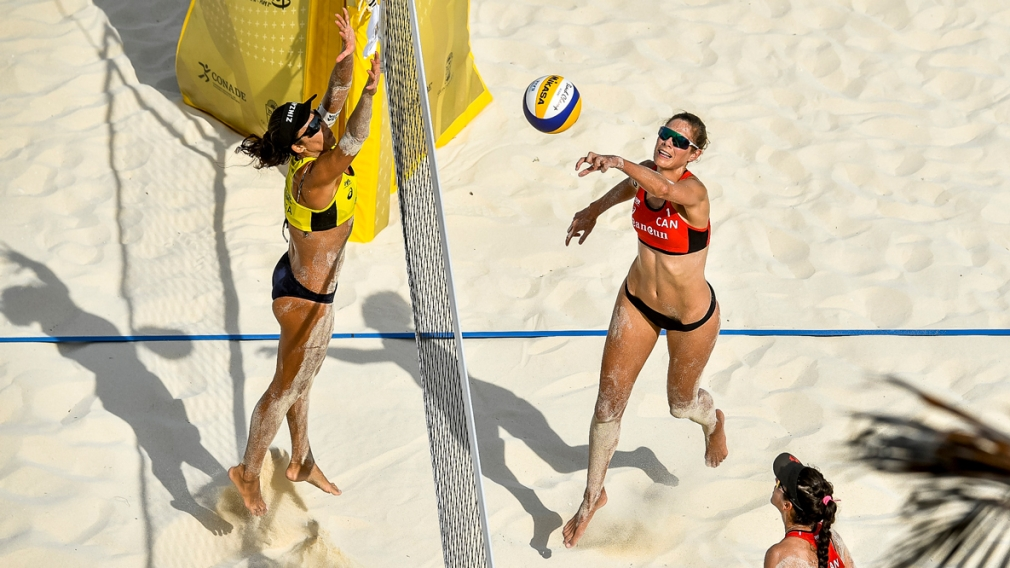 Silver for Sarah Pavan and Melissa Humana-Paredes in Cancun