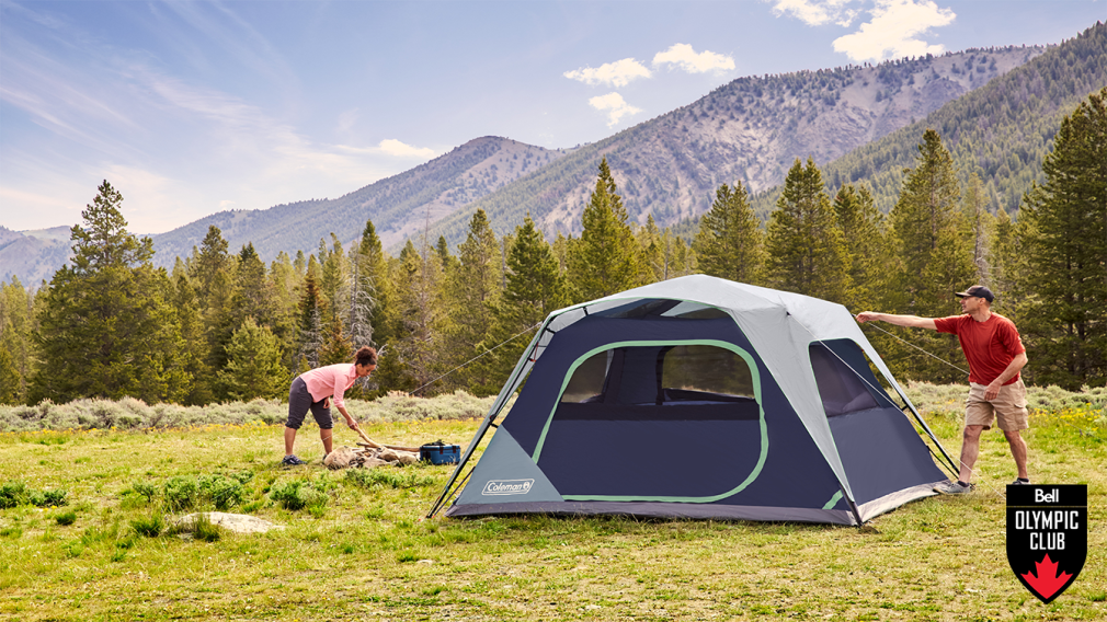 Win a Coleman instant tent from Canadian Tire