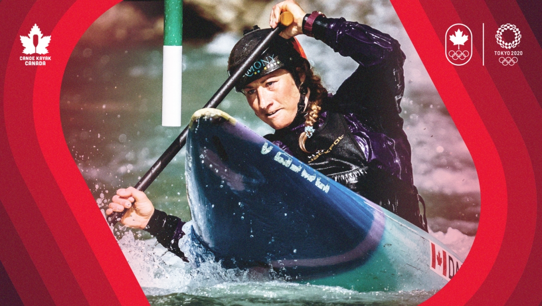 Canoe Kayak Slalom team announcement graphic