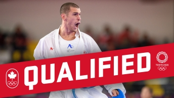 Daniel Gaysinsky qualifies for the Tokyo 2020 Olympic Games