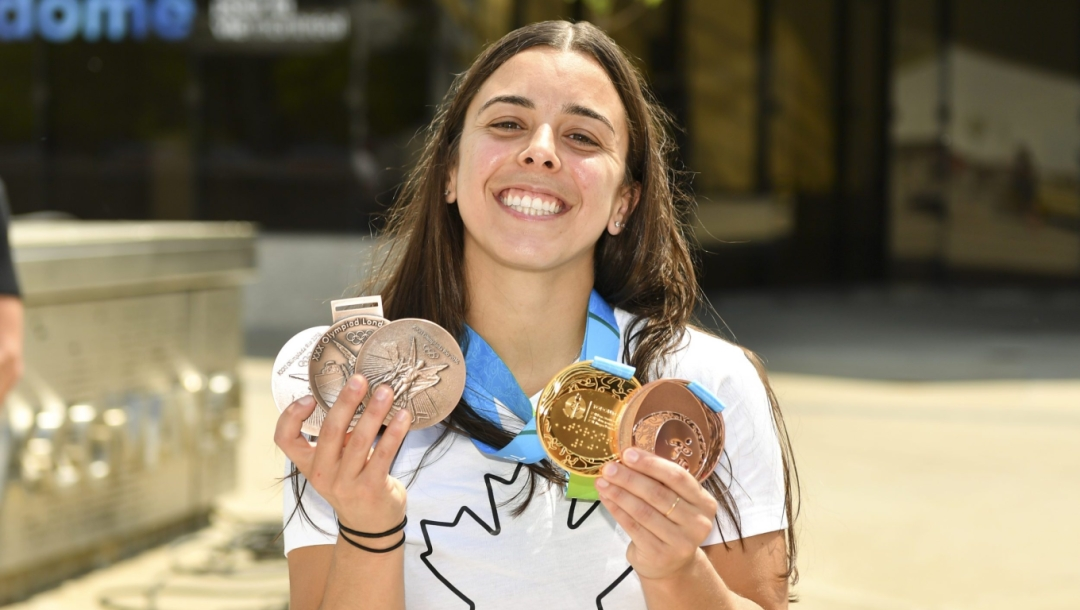 Team Canada Meaghan Benfeito new medals