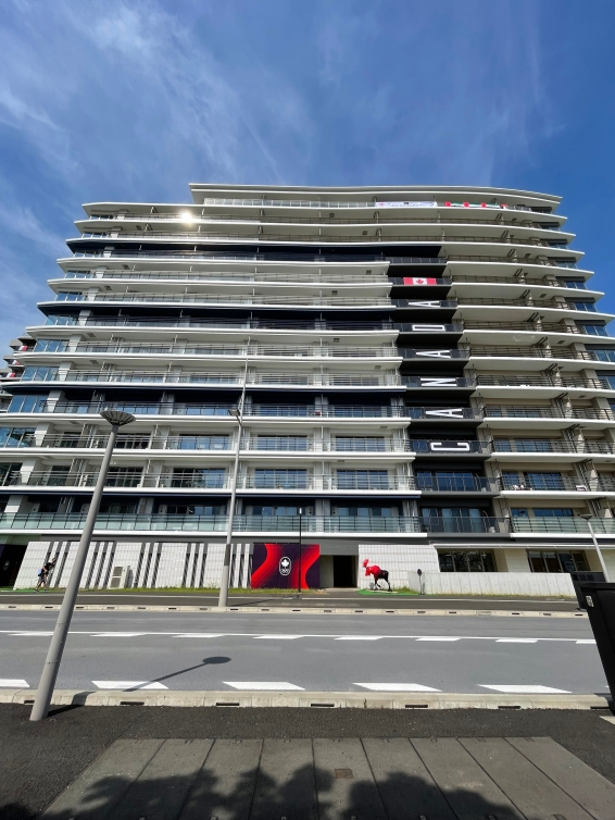 Apartment style building for Team Canada athletes
