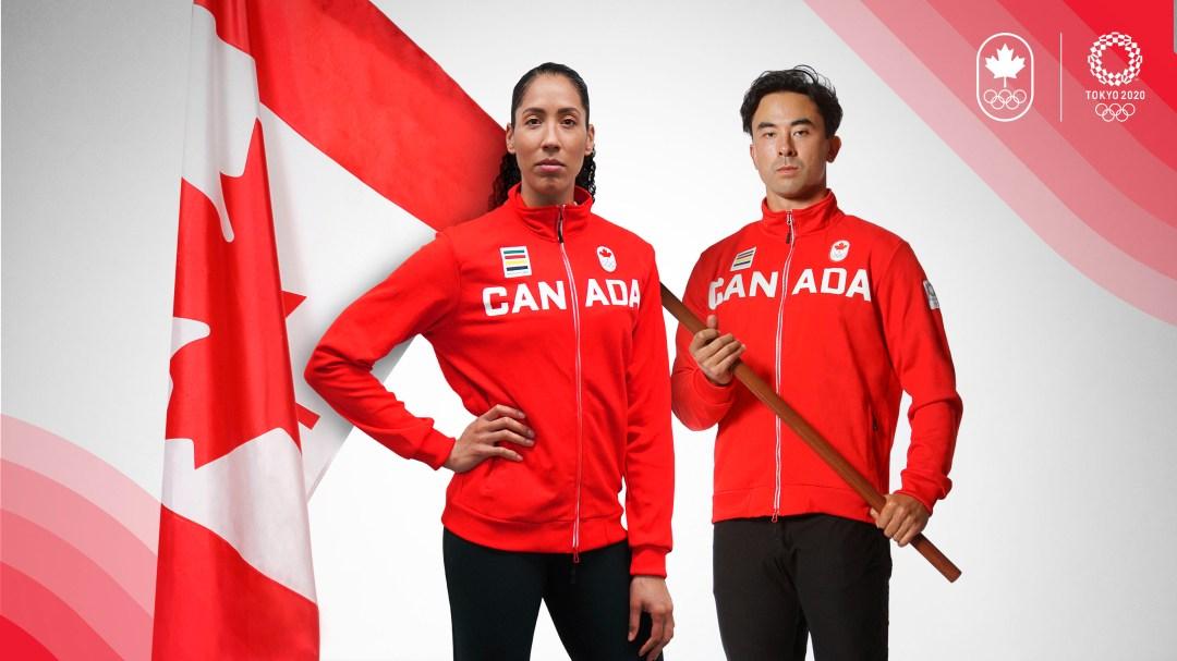 Miranda Ayim and Nathan Hiriyama