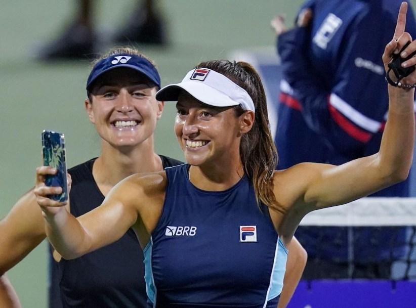 Gabriela Dabrowski and Luisa Stefani