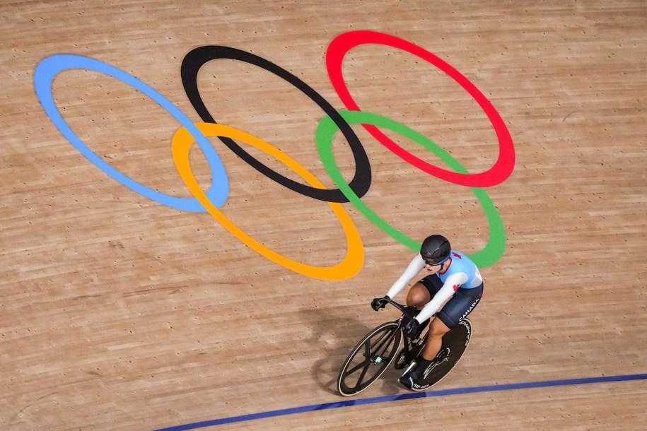 Canadian cyclist Lauriane Genest