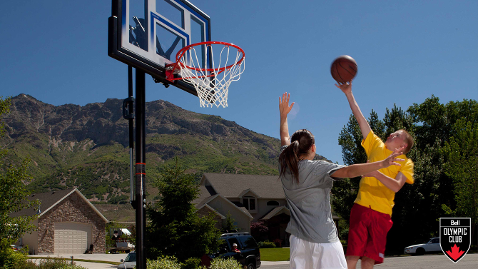 Win a portable basketball system from Canadian Tire
