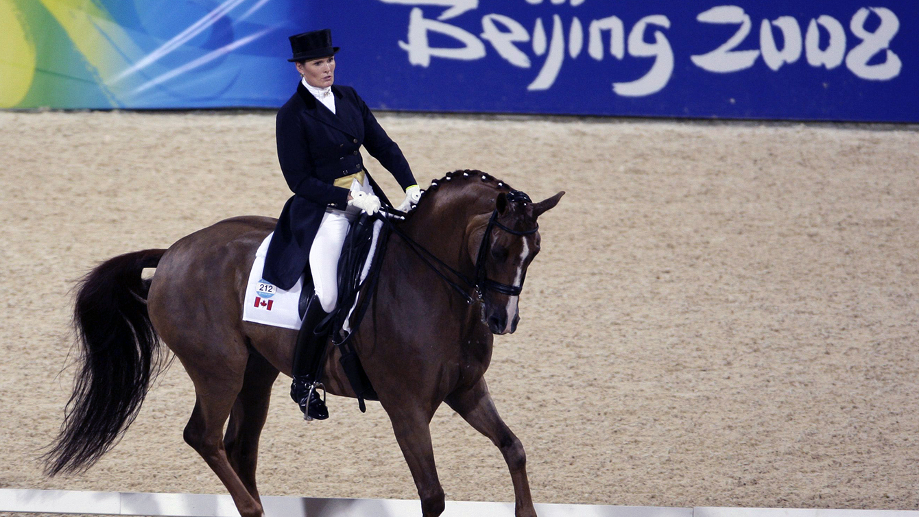 Ashley Holzer - Sports équestres : dressage