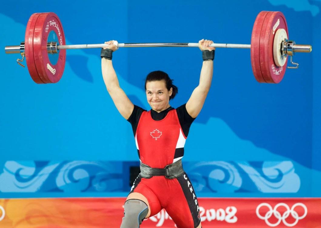 Christine Girard aux Jeux olympiques de Beijing