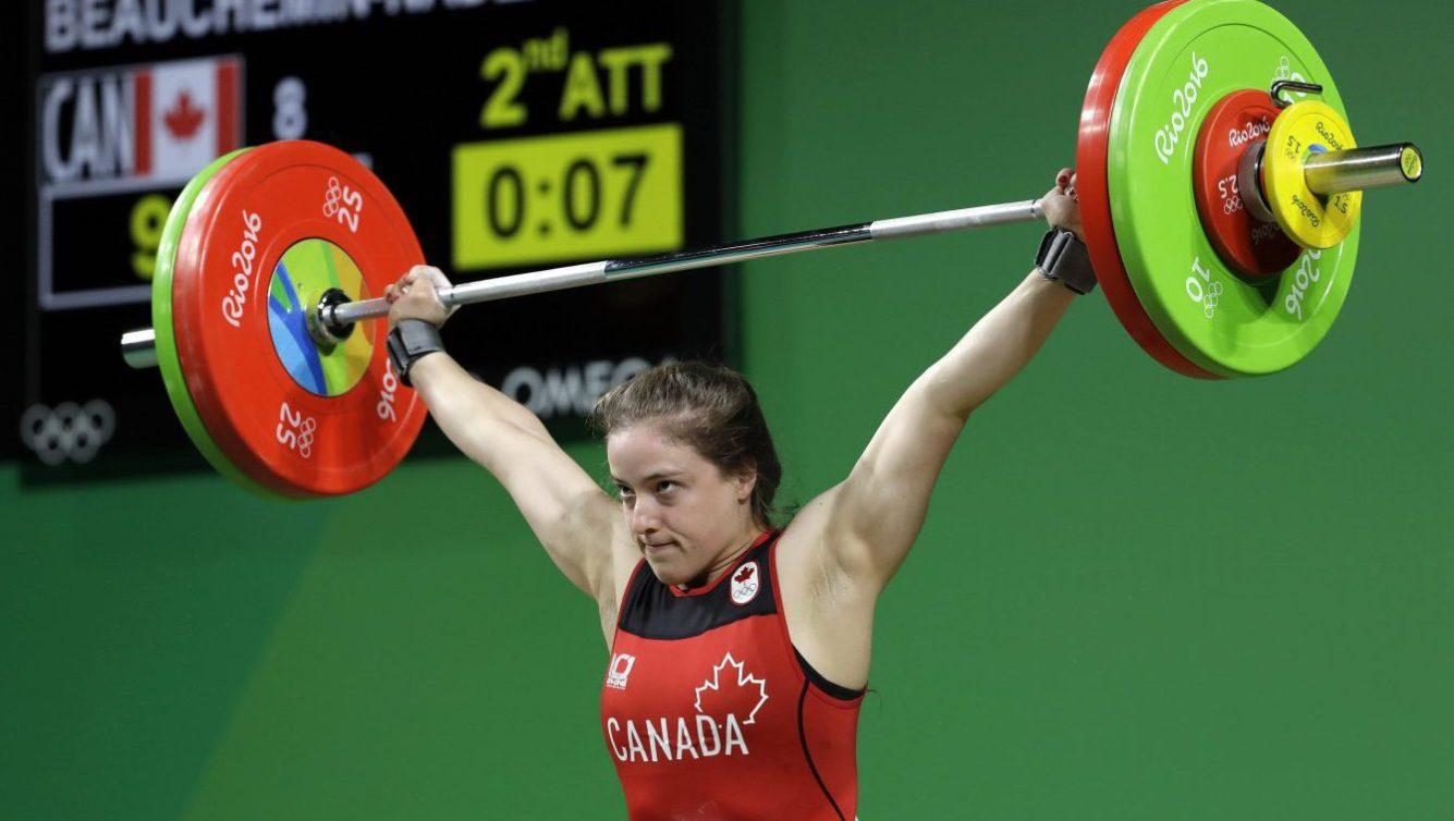 Marie-Eve Beauchemin-Nadeau en action à Rio 2016.