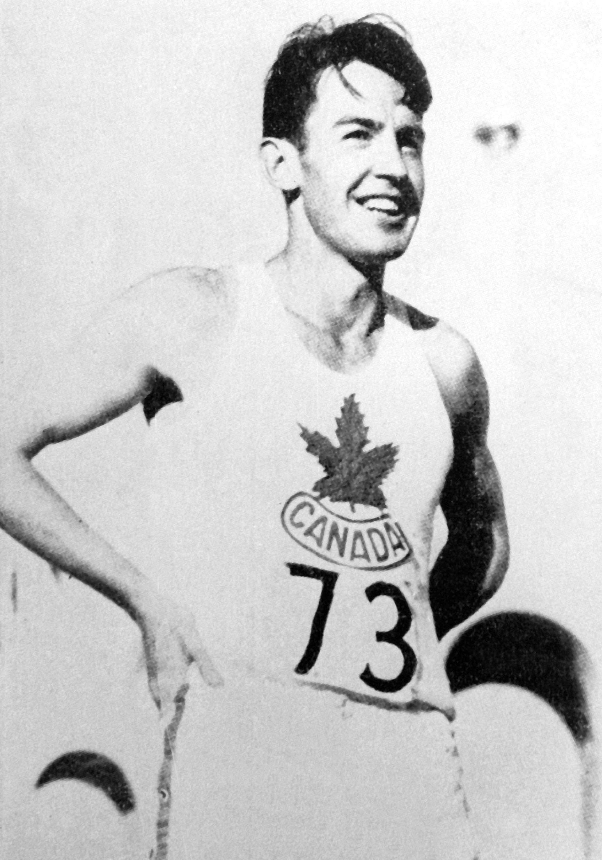 Le Canadien Duncan McNaughton a décroché le titre olympique du saut en hauteur aux Jeux de Los Angeles 1932. (CP Photo/COC)