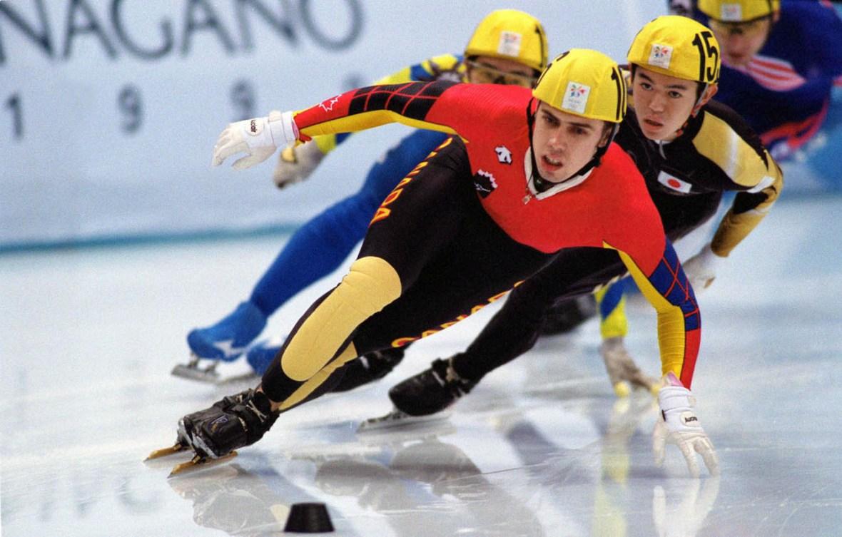 Éric Bédard, originaire de Sainte-Thècle, détient quatre médailles olympiques à son palmarès.