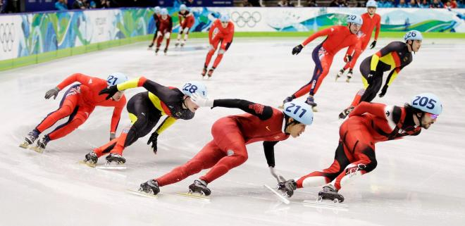 Vancouver Olympics Short Track