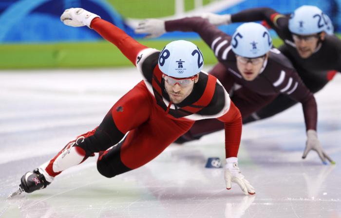 L'Almatois François-Louis Tremblay a connu une brillante carrière olympique avec un total de cinq médailles.