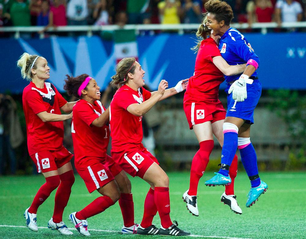 L'or aux Jeux panam de 2011 pour l'équipe de soccer féminine