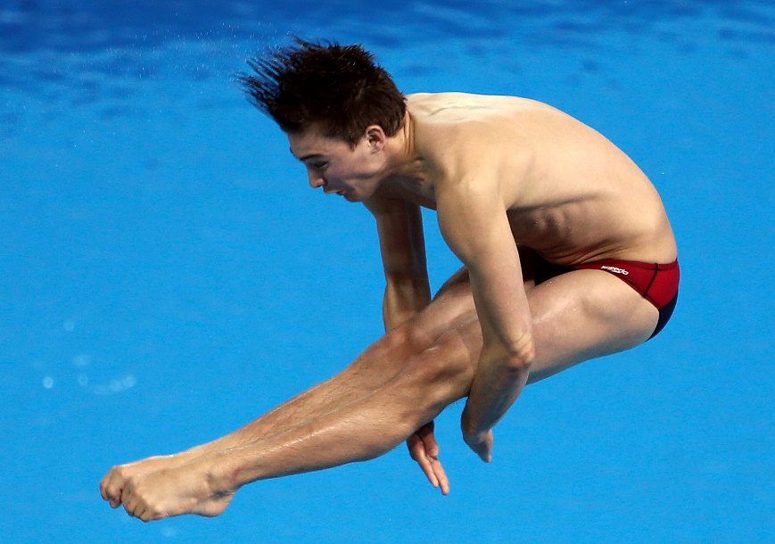 Philippe Gagné aux Jeux panaméricains de Toronto le 11 juillet 2015.